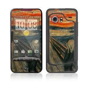 The Scream Protective Skin Cover Decal Sticker for HTC