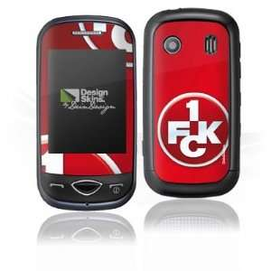 Design Skins for Samsung B3410   1. FCK Logo Design Folie
