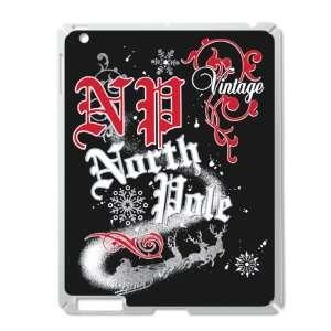 Silver of Christmas Vintage North Pole Santa Claus