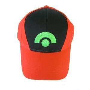 Nintendo Pokemon Ash Ketchum Cap Embroidered Hat One Size