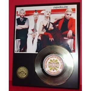No Doubt 24kt Gold Record LTD Edition Display ***FREE PRIORITY