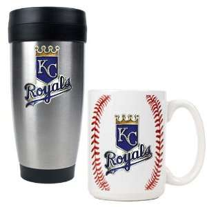 Kansas City Royals MLB Stainless Steel Travel Tumbler & Game