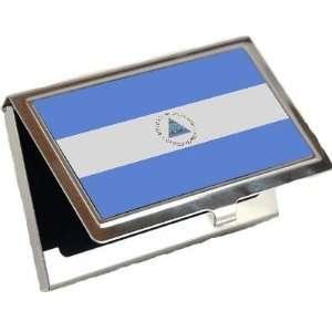 Nicaragua Flag Business Card Holder