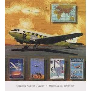 Golden Age Of Flight (Canv)    Print