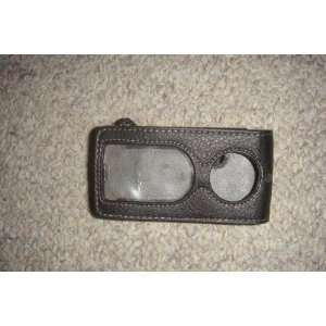 Ipod Nano Leather Case Black