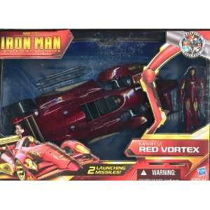 Iron Man The Armored Avenger Mark VI Red Vortex Toys & Games