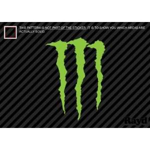 (2x) Monster   Cell Phone Sticker   Mobile   Decal   Die