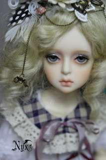 Lethe girl head OR doll 1/4 doll bjd MSD super dollfie |
