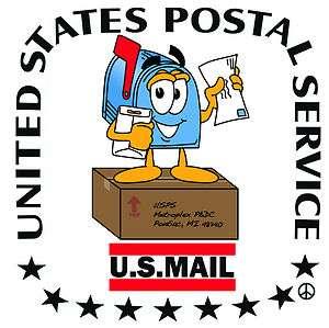 Clerk MVS United States Postal Post Mail Service Mr. Zip Shirt