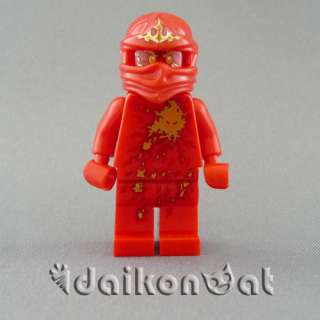 LEGO Ninjago NRG Kai Red Kai Minifigure w/ a Golden Scythe NEW