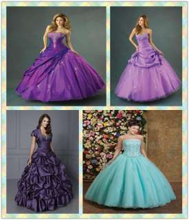 2012 Quinceanera Wedding dress Bridal Bridesmaid Gown/Prom Ball