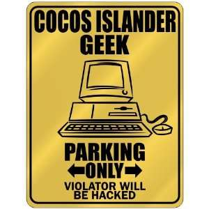 New  Cocos Islander Geek   Parking Only / Violator Will