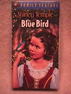 Shirley Temple VHS The Blue Bird Sealed V8 024543029670