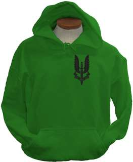 SAS Crest UK Special Air Service Ops Military Hoodie
