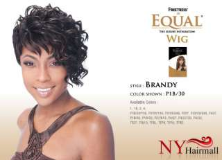 FreeTress Equal Full Wig Synthetic   Brandy (curly short)