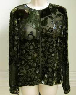 Womens Long Sleeve Velvet Shirt, Size M, New with Defects