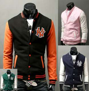 New York Yankees Logo Baseball Jackets Coats For Men