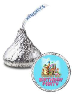 108 CANDYLAND Birthday Party Favor KISSES LABELS