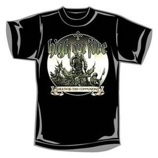 High On Fire   T shirts   Band Clothing