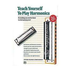 Teach Yourself To Play Harmonica   Book/Harmonica Musical Instruments