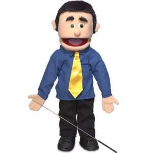 George, 25In Full Body Puppet, Peach  Affordable Gift