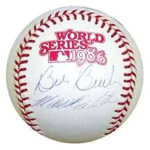 Wilson Auographed 1986 World Series Baseball Spors & Oudoors