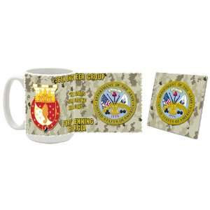 US Army 36th Engineer Group Fort Benning GA Coffee Mug/Coaster: