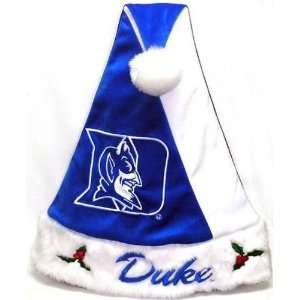 Duke Blue Devils Colorblock Santa Hat