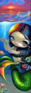 Mermaid Jasmine Becket Griffith lowbrow fantasy art BIG PRINT