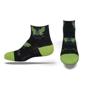 DeFeet Womens Wooleator Fly Away Cycling/Running Socks
