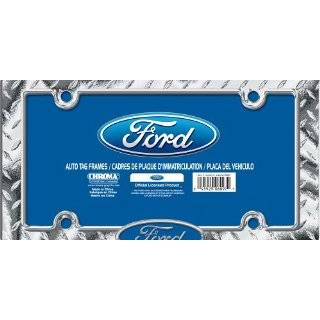 Chroma Graphics 3703 Ford Logo w/Flames   Windshield Decal