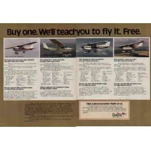 1975 Cessna 150 Commuter, Commuter II, Skyhawk II, and Cardinal II Ad