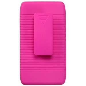 RAZR COMBO Belt Clip Holster Hard Case Cover Stand Hot Pink
