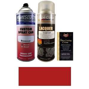 Oz. Cherokee Red Spray Can Paint Kit for 1977 Volvo All Models (129