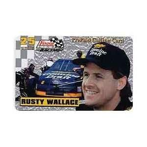 Card 25u Platinum Series Rusty Wallace (Miller   Genuine Draft) USED