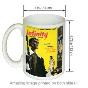 Infinity Science Fiction Vintage SciFi Cover Art COFFEE MUG