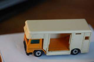 1977 Lesney Matchbox Horse Box Truck #40 nice shape HTF