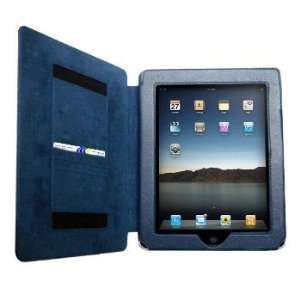 Cbus Wireless Navy Blue Form Fit Leather Folio Case