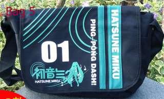 Vocaloid Hatsune Miku Messenger School Shoulder Bag 5