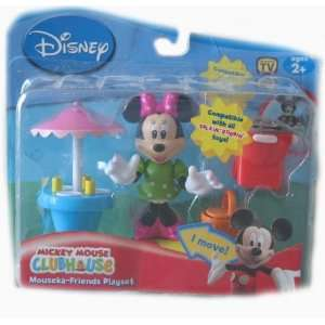Disney Mickey Mouse Clubhouse Minnie Mouse Playset Toys & Games
