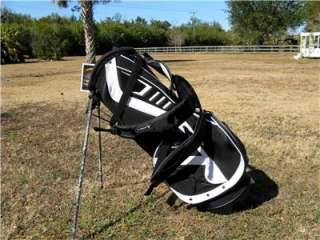KIng Cobra GT Lightweight Black/White Stand Golf Bag