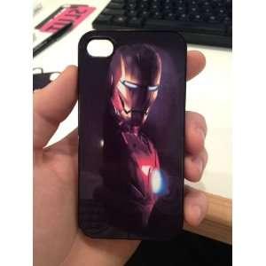 Iron Man iPhone 4 + 4s Black Case