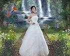 Fantasy Wedding Collection 2 Digital Photo Backgrounds, Backdrops