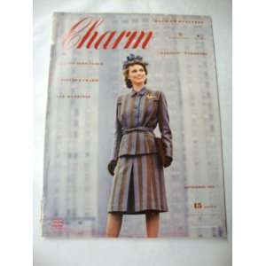 Charm Magazine   September 1942 Elizabeth D. (ed.) Adams Books