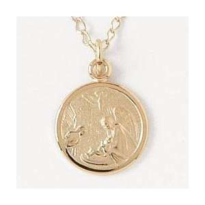 Guardian Angel Gold Filled Pendant   for Children
