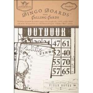 Tattered Angels TAT09BC 1347 Bingo Boards & Calling Cards