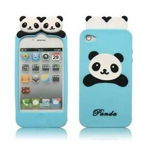 iPhone 4G/4S Lovely Panda Bear Style Series Soft Plastic