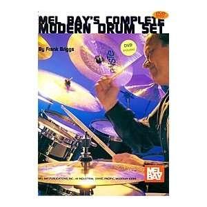 Complete Modern Drum Set Book/DVD Set Electronics