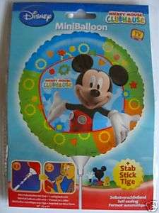 MICKEY MOUSE CLUBHOUSE (Party) 6 Shaped Plates & 8 Cups