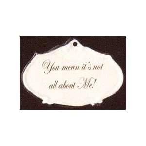 America Retold Not All About Me Magnet